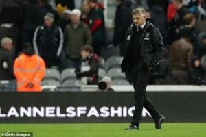 You're going to get me sacked, Solksjaer tells Manchester United team