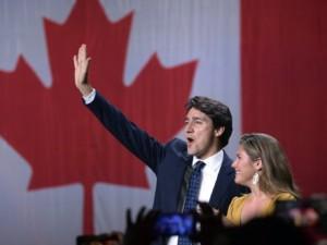 Canada's PM, Trudeau wins second term, loses majority vote