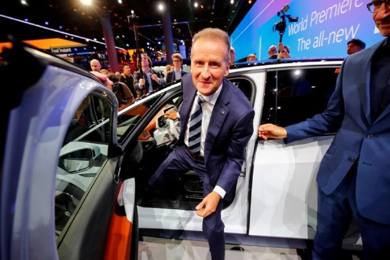 Volkswagen CEO says electric car shift won't hurt margins: paper