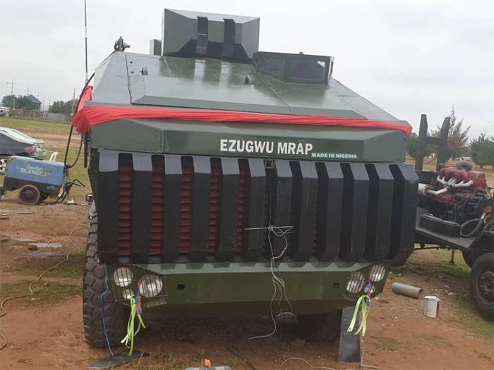 Armoured Vehicle owned by the Nigerian Army