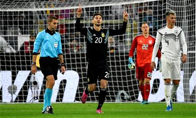 Germany 2-2 Argentina: La Albiceleste rally back to overcome 2 goal deficit