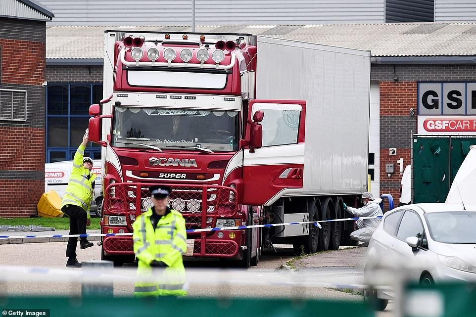 Name of man said to have leased lorry containing 39 dead bodies revealed