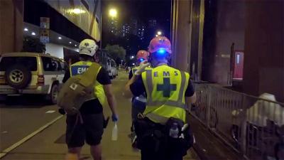 Hong Kong Protests, Medics