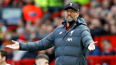 Liverpool's 20 point lead over Man City 'pretty unthinkable' - Klopp