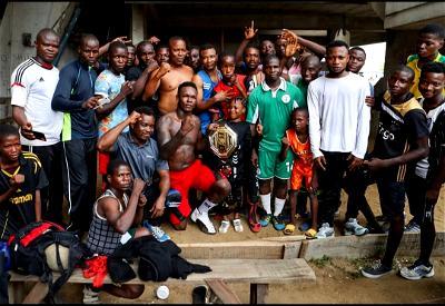 Israel Adesanya, UFC, Nigerians