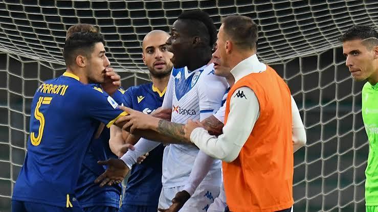 Balotelli, Verona, racist abuse