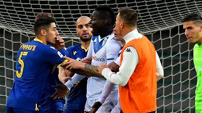 Serie A, Balotelli, Verona, racist abuse