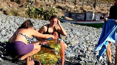 Canary Islands, Migrants, Boat