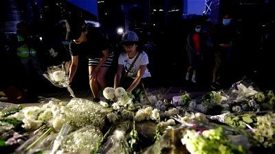 Hong Kong, Martyrs, Vigil, Protesters