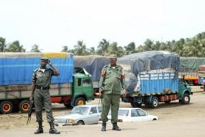 Border Closure: Stranded Ghanaian trucks parts, batteries stolen
