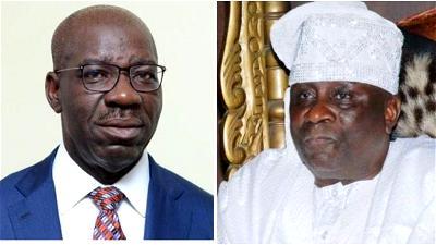 Obaseki, Oba of Lagos, Oshiomhole