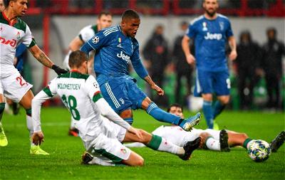 Juventus, Lokomotiv Moscow, UCL, Douglas Costa