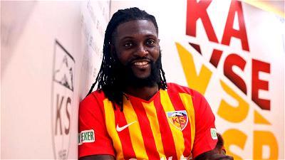 Emmanuel Adebayor, Kayserispor