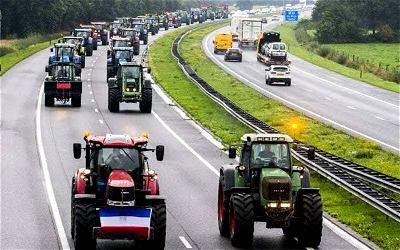 Dutch, Farmers, EU, Protest
