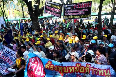 Thai, Fishermen, Protest