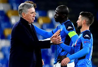 Ancelotti, Lampard, Napoli