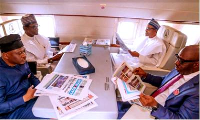 Buhari, Obaseki, two other govs off to Egypt for Peace, Devt Forum