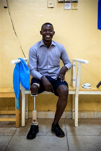 ICRC Sudan: I lost my leg but I am physically fit — Faris