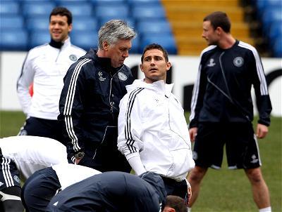 Lampard, Ancelotti