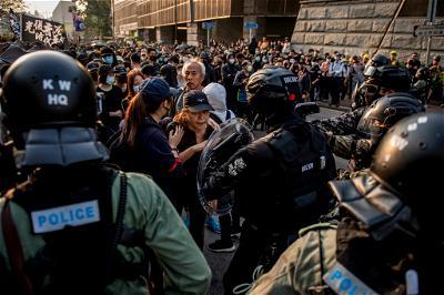 Hong Kong, Protests,Police