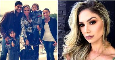Brazilian striker, Hulk, split with wife of 12 years, dates children's cousin