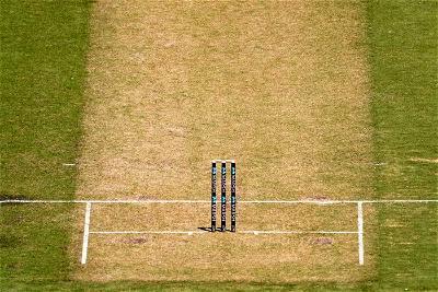 MCG pitch, cricket