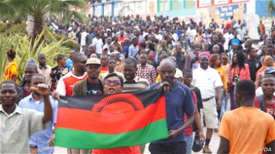 Malawi Police Officers under probe for sexually harassing female protesters
