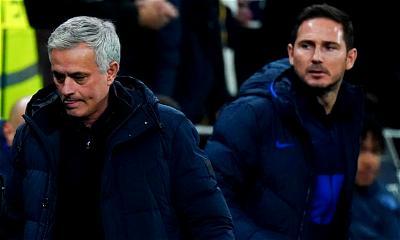 Mourinho, Lampard, Salah, De Bruyne