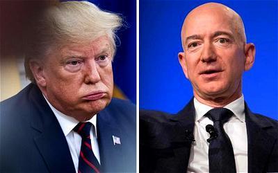Trump, Bezos, Amazon