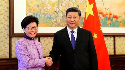 Xi Jinping, Carrie Lam, China, Hong Kong