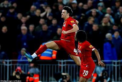 Curtis Jones, Liverpool, Everton, FA Cup