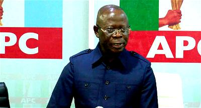 APC: I've no regret, I stand by all my actions — Oshiomhole