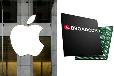 Apple, Broadcom