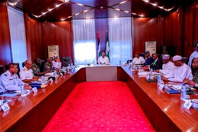 Muhammadu Buhari, his service chiefs and the security of Nigerians