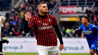 Ante Rebic, AC Milan, Udinese