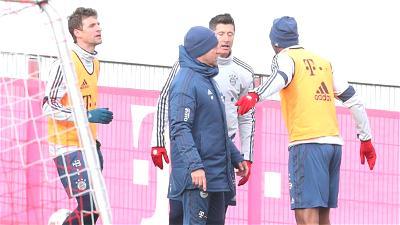 Jerome Boateng, Leon Goretzka, Bayern Munich