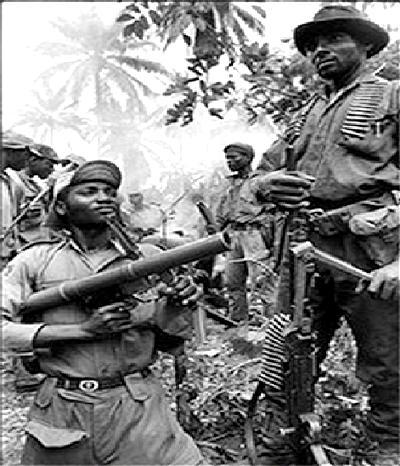 Biafran, war