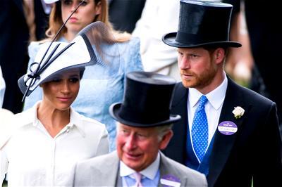 Prince Charles, Harry, Meghan