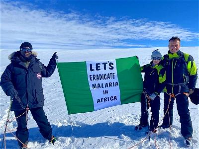 Ned Nwoko flags off malaria-free Africa campaign in Antarctica