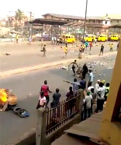 34 suspects arrested for attacking policemen at Iyana Ipaja, Lagos