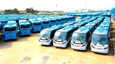 Okada ban: Sanwo-Olu orders release of 65 more buses on roads