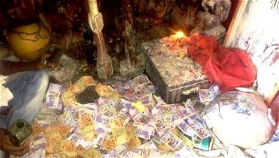 Weird world of money ritualists