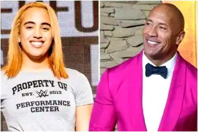 Dwayne 'The Rock' Johnson's Daughter, Simone, Signs With WWE