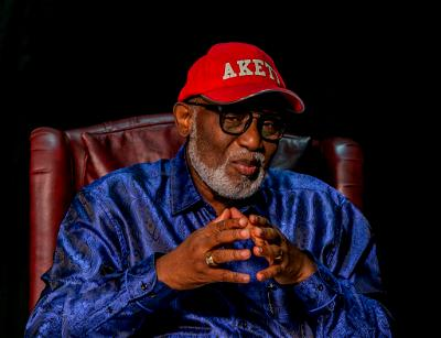 Why I didn't stay in Governor's lodge built by my predecessor — Akeredolu