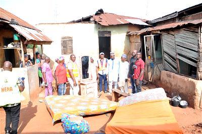 Edo govt provides succor to rainstorm victims