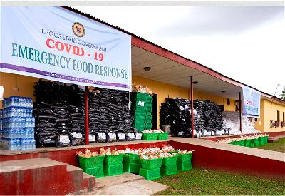 #StayAtHome: Rice, beans, garri, pepper, vitamins for 200,000 households in Lagos