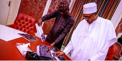 Sanwo-Olu briefs Buhari on Abule-Ado explosion