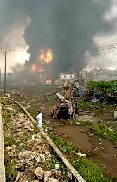 Abule Ado explosion update: 11 unidentified bodies recovered ― LASEMA Boss