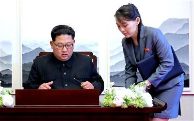 Kim Yo Jong, Kim Jong Un, North Korea