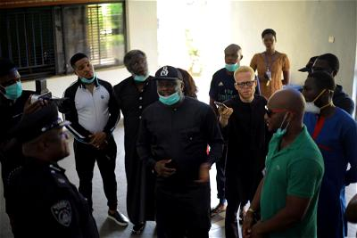 COVID-19: Basement Africa supports Delta State Police Command